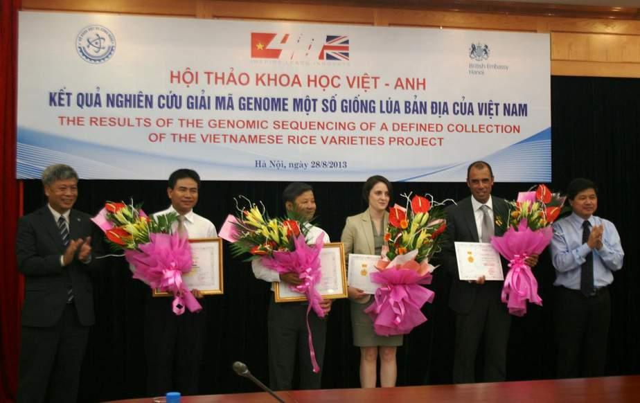 Giải mã thành công hệ gen 36 giống lúa Việt Nam