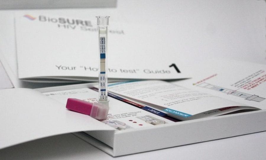 Bộ dụng cụ tự xét nghiệm BioSure HIV Self Test