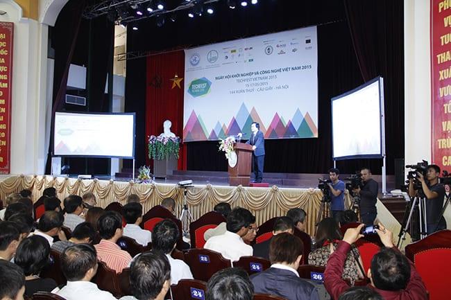 Khai mạc Ngày hội Khởi nghiệp và Công nghệ Việt Nam 2015 - Techfest Vietnam