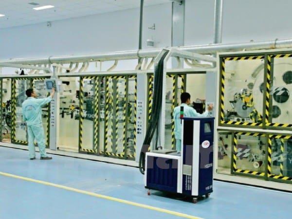 Nhà máy ứng dụng công nghệ nano bạc tại Bắc Ninh