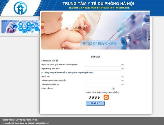 Hướng dẫn đăng kí điện tử tiêm vắc xin Pentaxim dịch vụ 3